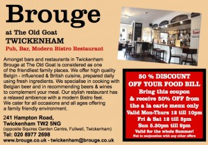 Brouge Summer Offer
